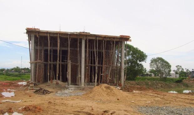 Quảng Trị:  Chủ tịch xã tự ý xây nhà trái phép trên đất nông nghiệp