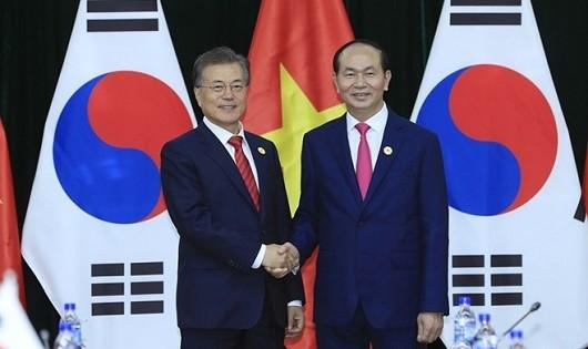 Tuần sau, Tổng thống Hàn Quốc thăm cấp Nhà nước tới Việt Nam