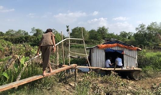 Dự án của Donacoop đẩy hàng ngàn dân vào cảnh điêu tàn: Túp lều dập dềnh bên dự án tỷ đô