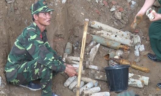 Phát hiện hầm đạn còn sót lại sau chiến tranh tại Quảng Trị