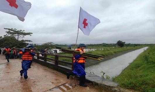 Diễn tập phòng, chống thiên tai ở Quảng Trị