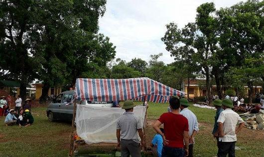 Hà Tĩnh: Sẩy chân xuống hố công trình, 2 anh em ruột tử vong