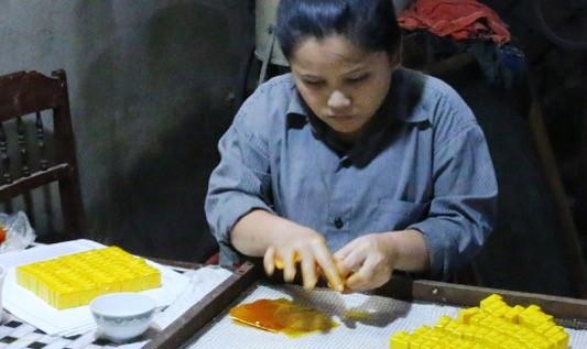 Mai một làng nghề sản xuất bánh in tiến vua