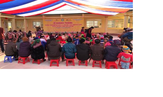 NCB xây trường cho trẻ em nghèo tại Cao Bằng