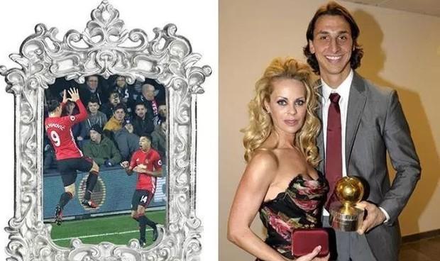 Ibrahimovic tặng quà Giáng sinh đặc biệt cho vợ hơn 11 tuổi