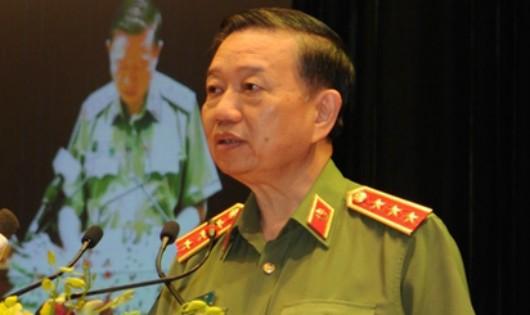 Chỉ đạo của Bộ trưởng Tô Lâm tới các Thủ trưởng Công an