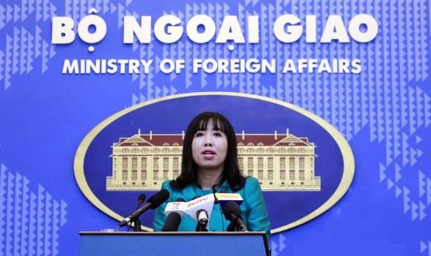 Người phát ngôn Bộ Ngoại giao nói về tin Trung Quốc tập trận bắn đạn thật