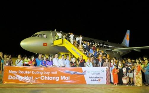 Quảng Bình: Mở đường bay quốc tế đầu tiên Đồng Hới - Chiềng Mai (Thái Lan)
