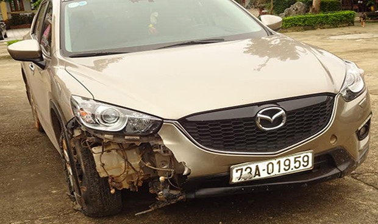 Gây tai nạn chết người, xe CX5 bỏ trốn