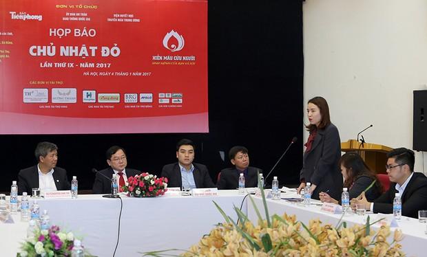 """Quỹ Vì tầm vóc Việt đồng hành cùng Ngày """"Chủ Nhật đỏ"""""""