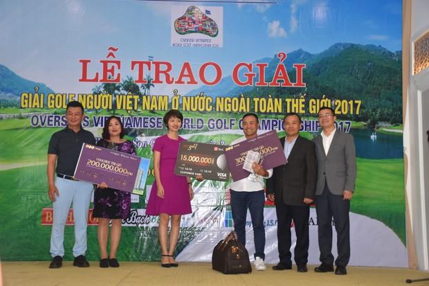 Giải Golf người Việt Nam ở nước ngoài toàn thế giới 2017 tổ chức thành công tại FLC Samson Golf Links