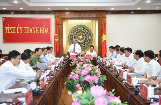 Thủ tướng : Thanh Hóa cần trở thành một tỉnh kiểu mẫu trong thu hút đầu tư