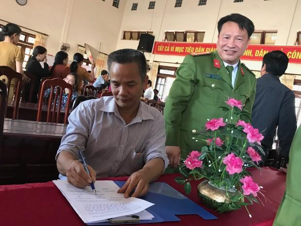 Công an Thị xã Phổ Yên xin lỗi công dân bị oan sai