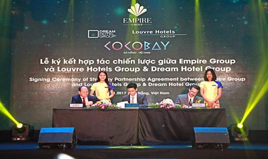 Empire Group ký hợp tác chiến lược với 2 tập đoàn quản trị khách sạn của Mỹ và Pháp