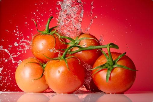 thực phẩm chống cháy nắng - cà chua