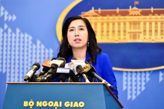 Người phát ngôn Bộ Ngoại giao lên tiếng về Trịnh Xuân Thanh và quan hệ Việt - Đức - Ảnh 1.
