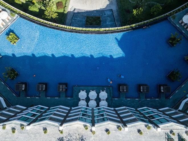 Bể bơi vô cực FLC Grand Hotel Sầm Sơn