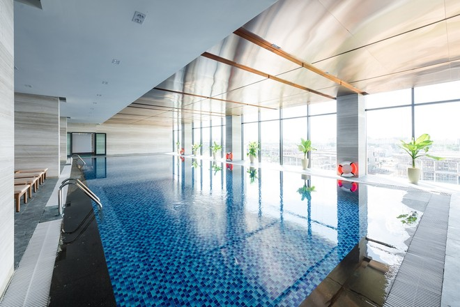 Bể bơi 4 mùa FLC Grand Hotel Sầm Sơn
