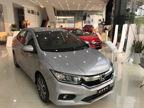 Honda City, một trong nhiều mẫu xe lắp ráp trong nước giảm giá để đẩy doanh số trong tháng 5-6.