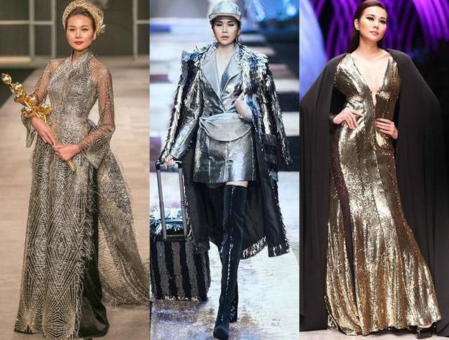 Khi Thanh Hằng nhận show thời trang cô luôn đảm nhận vị trí vedette vì cách làm việc chuyên nghiệp của mình.