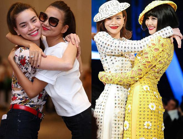 Thanh Hằng và Hà Hồ có mối quan hệ thân thiết với nhau.