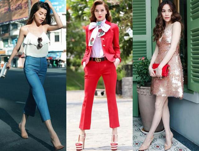 Dù không còn là người mẫu nhưng thần thái của Hà Hồ vẫn toát lên hình ảnh của một người mẫu chuyên nghiệp.