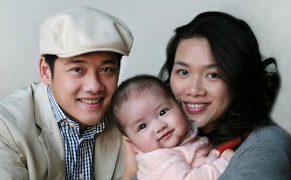 Bà xã của diễn viên Hải Anh tên Hoài Thu, kém anh 1 tuổi.