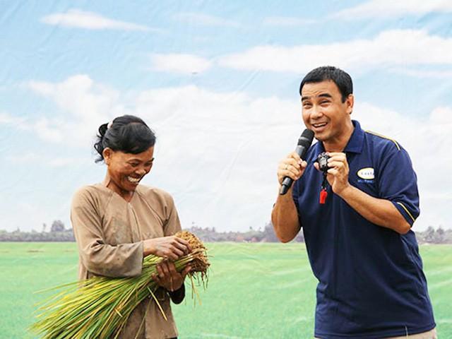 Quyền Linh được nhiều khán giả yêu mến gọi là MC nông dân.