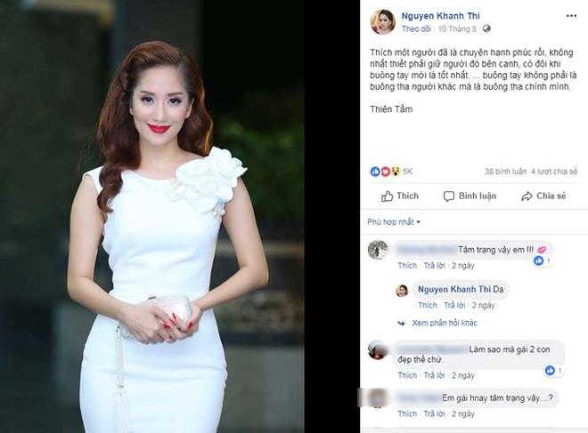 Khánh Thi liên tục đăng tải status buồn bã và muốn buông bỏ tình yêu? - ảnh 2