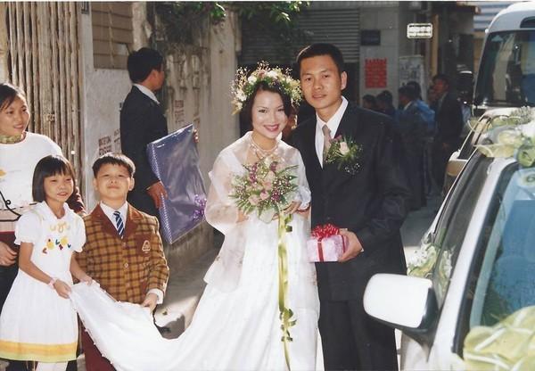 Bạch Dương kết hôn cùng ông xã Tuấn Minh.