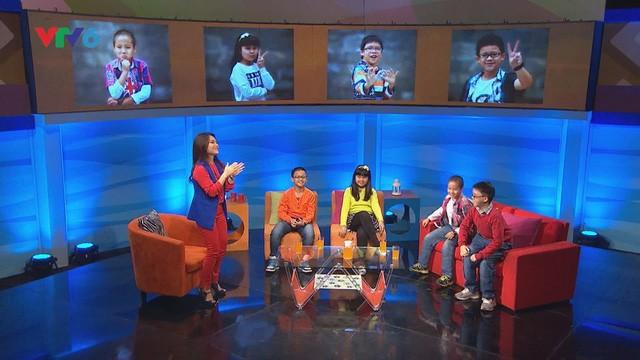 Bạch Dương dẫn dắt chương trình Những đứa trẻ hay chuyện.