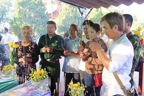 Gia đình ông Thuận có nguyện vọng đón liệt sĩ Hưng về quê an táng. Ảnh:Hoàng Táo