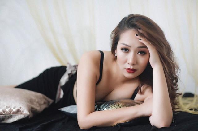 Sự gợi cảm bất ngờ của người đẹp Ngô Phương Lan (Ảnh: Nguyễn Bảo Ngọc).