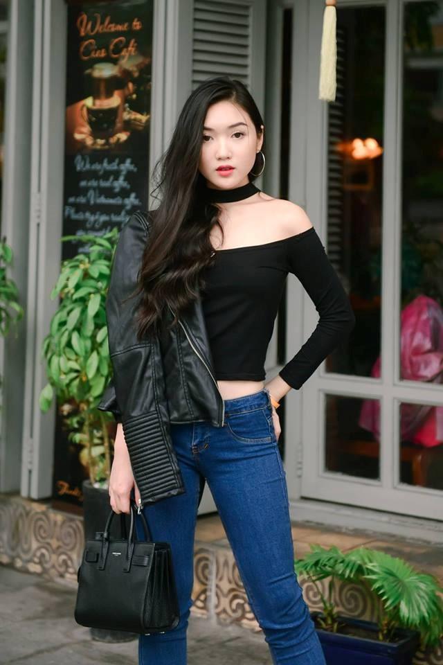 Chloe Nguyen: Hot girl Sai thanh so huu gout thoi trang sanh dieu hinh anh 11