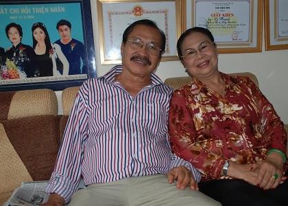 Vợ chồng nghệ sỹ - doanh nhân Lý Huỳnh