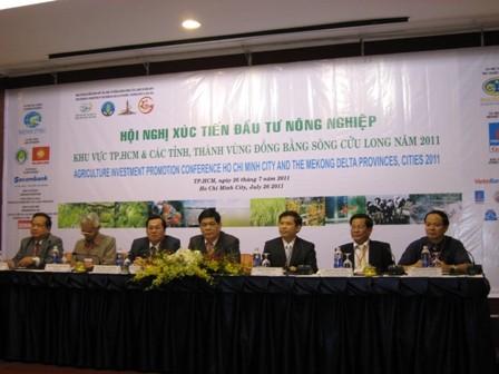 Hội nghị xúc tiến đầu tư nông nghiệp diễn ra sáng 26/7 tại TP.HCM