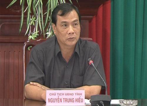 Ông Nguyễn Trung Hiếu - Phó Bí thư Tỉnh ủy, Chủ tịch UBND tỉnh Sóc Trăng