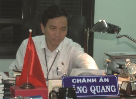 Chánh án Đặng Quang.