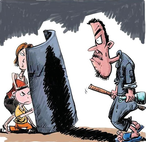 Bao giờ xã hội có lá chắn hữu hiệu cho nạn nhân bị bạo hành gia đình?. Hình minh họa
