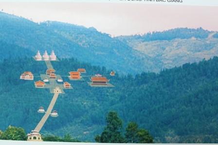 Phối cảnh Trúc Lâm Thiền viện Phượng Hoàng