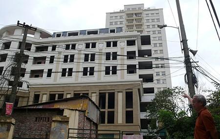 Hai tòa nhà cao tầng của Cty xây dựng giao thông đô thị thoát khỏi cảnh bị giải tỏa do PMU 85 điều chỉnh thiết kế