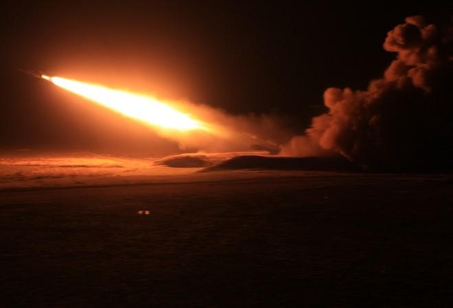 Tên lửa của Trung đoàn 257 đã bắn hạ mục tiêu trong đợt diễn tập bắn đạn thật của Quân chủng Phòng không-Không quân tháng 12/2011