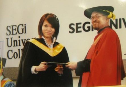 sinh viên Segi