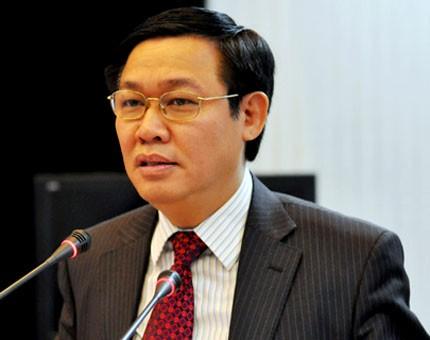 Bộ trưởng Vương Đình Huệ