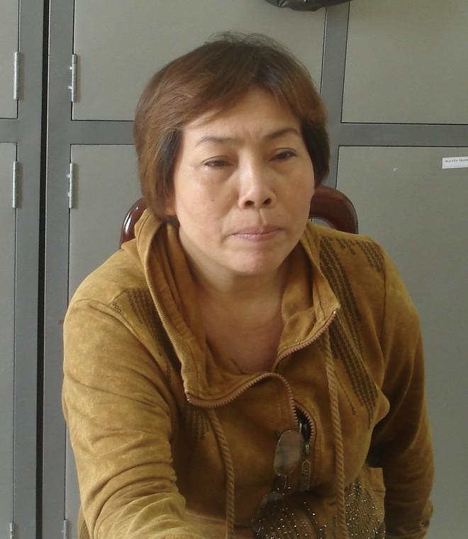 Nữ quái Nguyễn Thị Bé khi bị bắt.