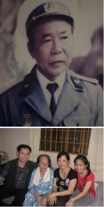 Vợ ông Tư Mau là bà Nguyễn Thị Tư (SN 1926), đang bên con cháu,  hiện sống tại thành phố Rạch Giá, tỉnh Kiên Giang.
