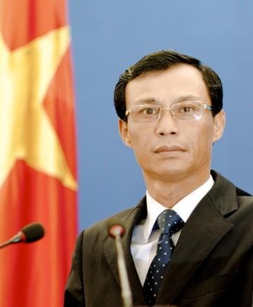 Người Phát ngôn Bộ Ngoại giao Lương Thanh Nghị.