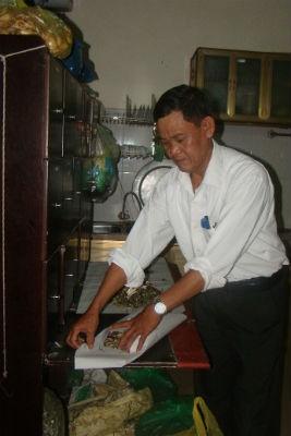 Ông Linh và bài thuốc chữa xoang