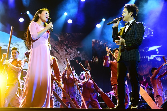 "huy7558 zdji Hai cặp song ca ""mẹ  con"" của Diva hòa giọng trong ""Daikin  Giai điệu vàng"""