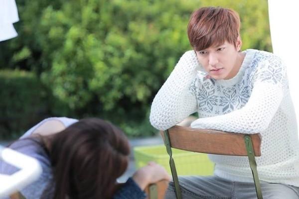 Lee Min Ho voi nhung bo canh 'chat lu' khi len phim